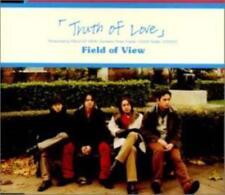 Truth Of Love: Field Of View Japan Import w/ Artwork & Obi Strip MUSIC AUDIO CD