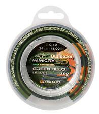 (0,11€/m) Prologic Mimicry 3D Green Holo Leader 100m 0,60mm 21,3kg Schlagschnur