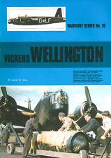 WARPAINT 10 WW2 VICKERS WELLINGTON RAF BOMBER COMMAND COASTAL COMMAND DWI GR