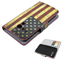 Leather Flip Magnetic Wallet Phone Hard Cover Case Stand For Motorola Moto G