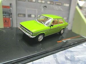 VW Volkswagen Derby LS Stufenheck Polo grün green 1977 IXO SP NEU 1:43