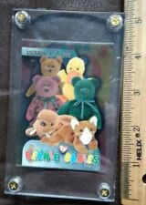 Ty Beanie Baby Bboc Case Box Card Series 3 New Face Teddy'S Issued 1-7-95