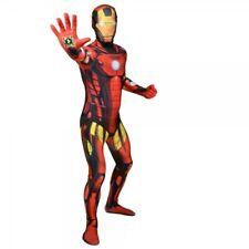 Marvel Comics Iron Man Adult Unisex Cosplay Costume Morphsuit Extra Large Mult