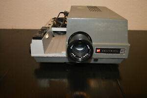 Vintage GAF Anscomatic 680 Slide Projector - Turns On - Lamp not working
