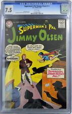 Superman's Pal JIMMY OLSEN 18 CGC 7.5 DC 1957 HIGHEST Graded Copy