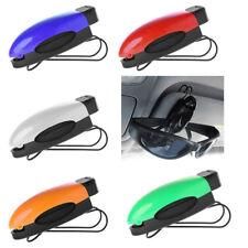5 Car Auto Sun Visor Clip Holder For Reading Glasses Sunglasses Eyeglass Card US