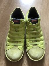 Camper Mens 'Human Energy' Canvas Shoes Trainers Size 42. Yellow