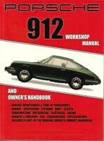 912 PORSCHE SHOP MANUAL SERVICE REPAIR BOOK OWNERS RESTORATION GUIDE HANDBOOK GT