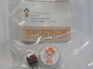 Deutsch CTJ716K01D-513 Common Termination System 16AWG 6Pos. Bussed Flange Mount