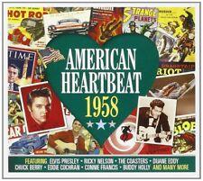 AMERICAN HEARTBEAT 1958 - BUDDY HOLLY - 2 CD NEUF