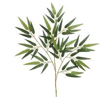 """28"""" Bamboo Spray Filler Artificial Greenery Fake Faux Silk Tropical Decor Jungle"""
