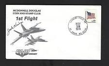 Jack Krings signed cover Chief Test Pilot McDonnell Douglas