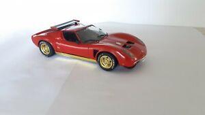 Lamborghini Jota Assembled plastic kit. 1:24 scale. V/good cond. Unknown brand
