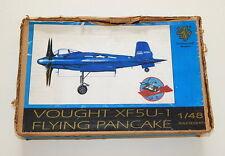 Professional Models Czech Vought XF5U-1 Flying Pancake 1/48 Scale Resin Kit NIOB