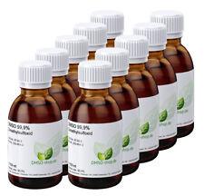 10 x 100 ml DMSO 99,9 % reinst - SPARPAKET - Dimethylsulfoxid, Braunglasflaschen