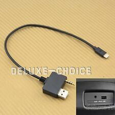 Audio Interface Adapter Cable For iPHONE 5 6 7 PLUS for HYUNDAI KIA US SELLER