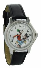Vintage style backward ticking watch Goofy And Micky Mouse Molded Hand watch