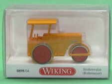 "1:87 Wiking 089804 Straßenwalze (Ruthemeyer) ""Bölling"" Blitzversand DHL-Paket"