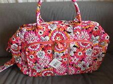 Vera Bradley Pixie Blooms Weekender Carry On Travel Bag-$98 MSRP #12479-207
