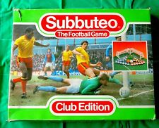 Subbuteo VERY EARLY  60140 CLUB EDITION Boxed set< EXCELLENT>>>PLUS trophy