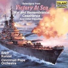 """Selections From """"Victory At Sea"""" And Other Favorites - Cincinnati Pops  (NEW CD)"""