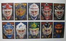 1995-96 Finnish Leaf SISU Ghost Goalies Complete 10 Card Set Sulander Lindfors
