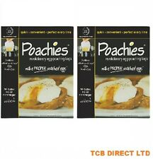 40 Poachies Egg Poaching Bags,  Poached Poach Eggs, Perfect every time