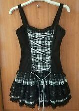 Vestido con falda de encaje corta, Gothic Lolita