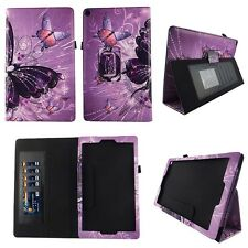Multipl Butterfly Fit for Amazon Fire HD 10 10.1 Inch Tablet Case Cover ID Slots