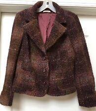 Devernois Paris  Wool/ Alpaca/ Mohair Multi Color Gorgeous Blazer, Size 42/ US10