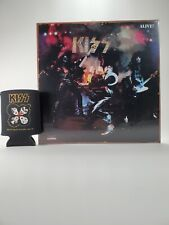 New Kiss Alive! Album Cover Tin Sign And Can Koozie