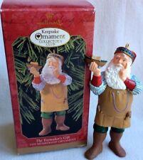 Toy Maker'S Gift Santa Ornament Hallmark 1999 Collector Club Christmas Keepsake