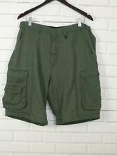 Boy Scouts Of American Mens Convertible Uniform Shorts Sz 38 Green BSA