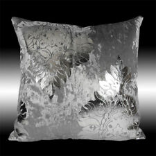 """SHINY LUXURY DAMASK SOFT THICK  VELVET DECO THROW PILLOW CASE CUSHION COVER 17"""""""
