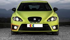 NEW GENUINE SEAT LEON CUPRA FR 06-13 FRONT O/S RIGHT FOG LIGHT GRILL BLACK