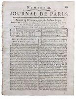 Montdidier en 1790 Somme Nancy Saint Domingue Ordre Religieux Fabrique de Lyon