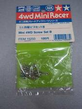 TAMIYA 15233 - MINI 4WD RACER TUNE-UP PARTS - SCREW SET B