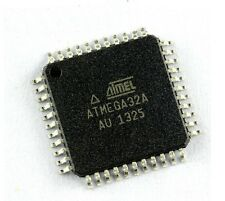 2PCS IC ATmega32A-AU ATmega32A MCU, 8BIT TQFP44 NEW GOOD QUALITY