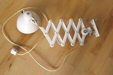 Original KAISER IDELL Scherenlampe Wandlampe * creme * 6817 * Design Ch. Dell