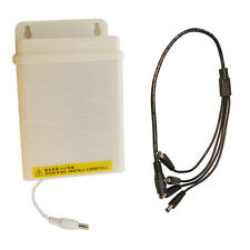 HQRP AC Adapter & Splitter Cable for Q-See QD6012B QD6531Z QD9701B QM6006B