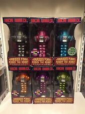 Forbidden Planet ROBBY THE ROBOT Comic Con Set OF 8  LOST IN SPACE FUNKO