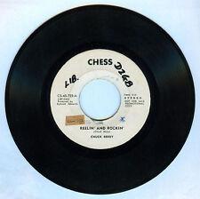Philippines CHUCK BERRY Reelin' And Rockin' 45 rpm PROMO Record
