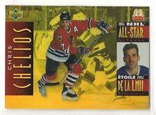 1994-95 Upper Deck McDonald's - #McD-16 - Chris Chelios - Chicago Blackhawks