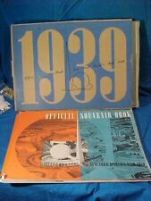 Orig 1939 NY WORLDS FAIR Souvenir PHOTO BOOK w Orig MAILING PACKAGE