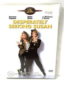 Desperately Seeking Susan (DVD, 2004) *RARE* Starring Madonna Free Tracking Post