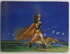CHRIS ACHILLEOS Fantasy Art Fridge Magnet CATWALK