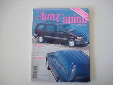 AUTOCAPITAL 8/1992 ALFA 155 Q4/LOTUS ESPRIT/MERCEDES 300 CE/LANCIA DEDRA TURBO