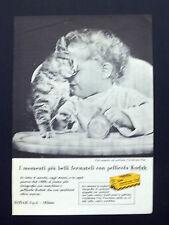 C677 - Advertising Pubblicità - 1959 - KODAK PELLICOLA FOTOGRAFICA