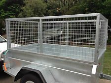7x4 GALVANISED CAGE (800mm) ONLY FOR BOX TRAILER PICKUP BRISBANE ... farm