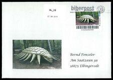 GERMANY Dinosaur dinosauri dinosauro-Custom STAMP-only 2 cover made!!! cp17